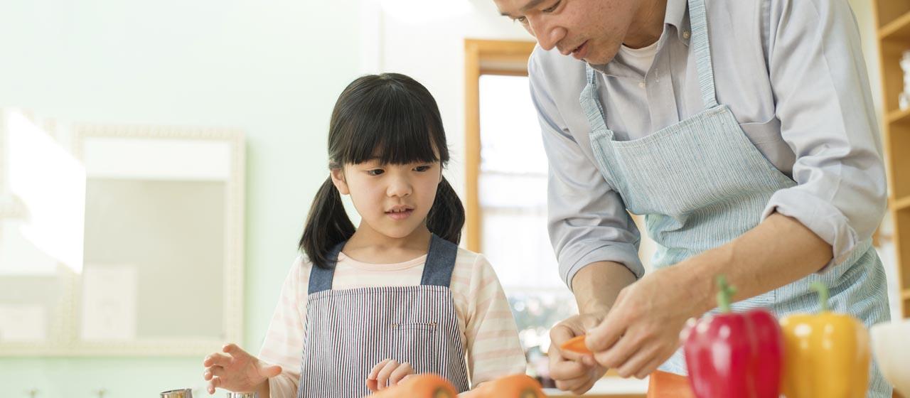 レンジで簡単「パパごはん」!料理ができるパパはカッコイイ!