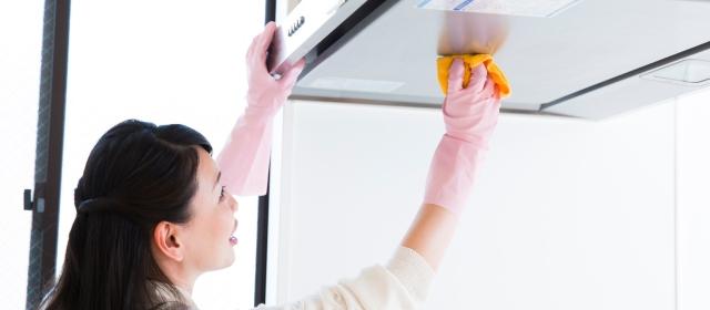 「換気扇」と「レンジフード」をすっきりキレイにする掃除のコツ