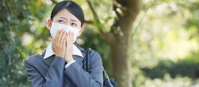 衣類への「花粉の付着」を防ぐ3つのポイント