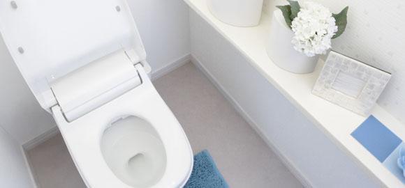 「トイレのニオイ」は「尿ハネ」と「尿石」が原因だった!