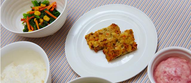 松風焼きと冬野菜のソテー