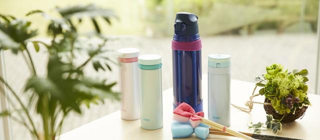 洗いにくさも悩みも一発解消!「水筒」の上手な洗い方とは?