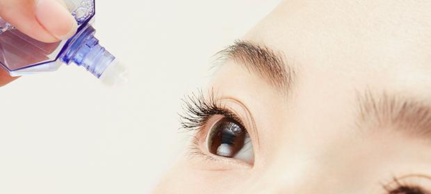 目薬、上手に差せていますか?目薬の差し方と取り扱い方法