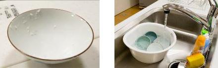 食器の「汚れ」を乾かさない
