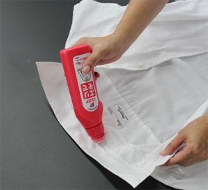 汚れの種類に応じて「部分洗い剤」を使う