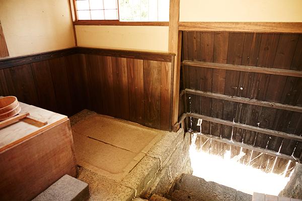 写真:「ハトバ」のある風呂場