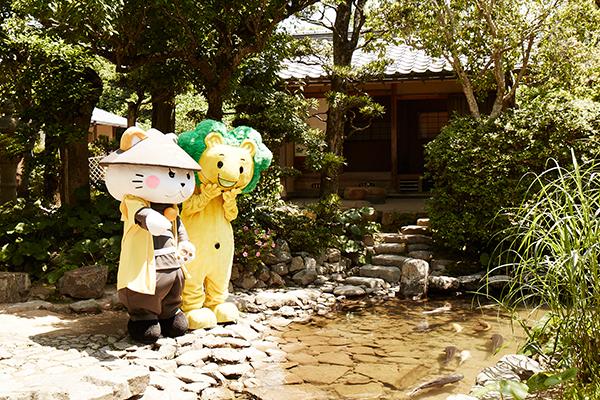 写真:旧湯川家屋敷