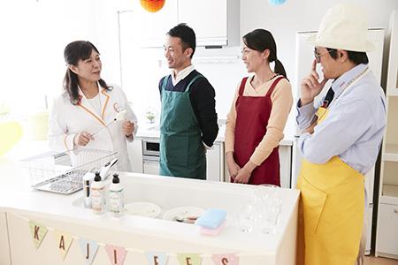 吉田ママと勝間パパが参加