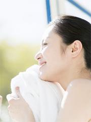 夏のダメージ解消に「お風呂」を活用