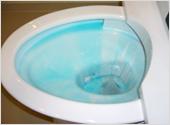 2.洗剤が全体に広がるのを待つ