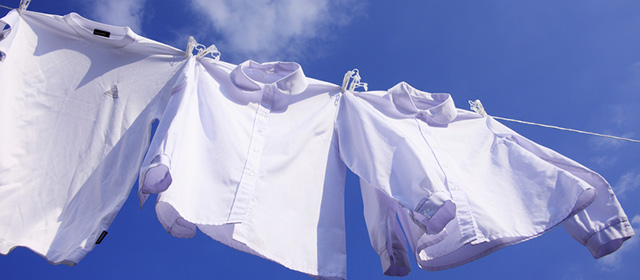 「衣類の干し方」検定
